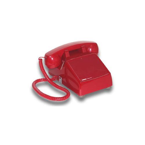 Hotline Desk Phone - Red