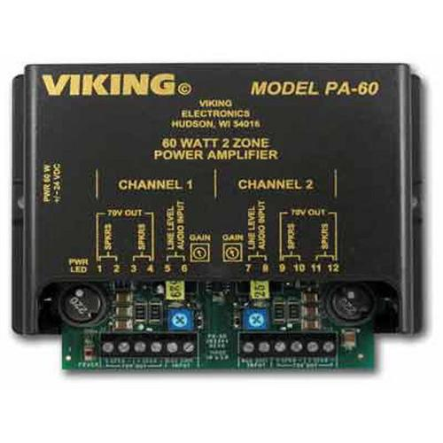 60W Compact Two Zone Amplifier
