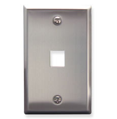 IC107SF1SS- 1Port Face Stainless Steel