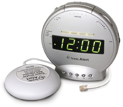 Alarm clock with phone Sig and Vib