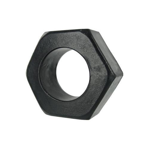 HexNut Cock Ring - Black