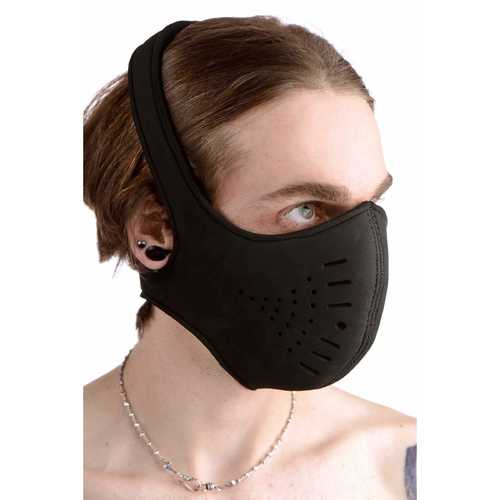 Neoprene Snap On Face Mask