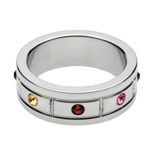 Jeweled Cock Ring- 1.95 Inch