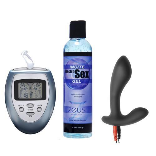 Electrify Your Prostate Silicone Estim Kit