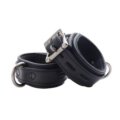 Strict Leather Luxury Locking Ankle Cuffs