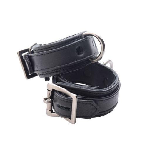 Strict Leather Luxury Locking Wrist Cuffs