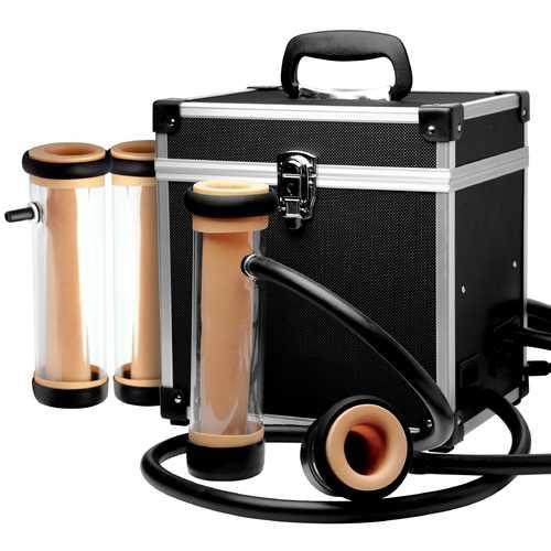 The Super Milker Automatic Deluxe Stroker Machine