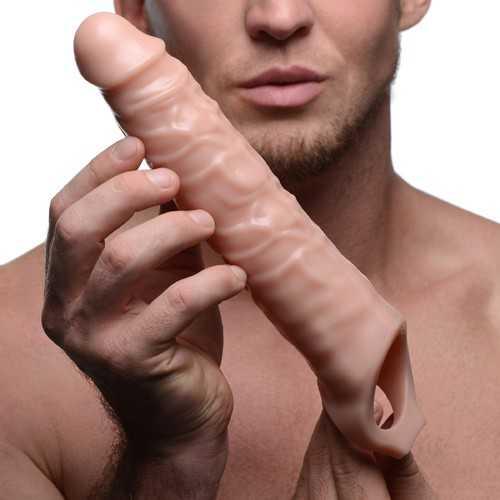 3 Inch Extender Sleeve Flesh