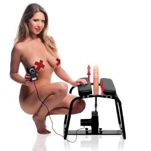 4 in 1 Banging Bench with Sex Machine
