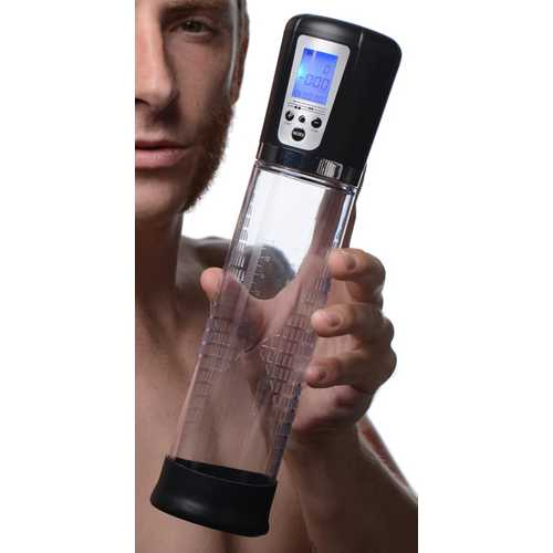 4 Level Power Suction Penis Pump With Built-in Display
