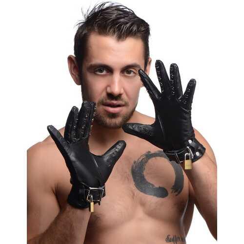 Locking Vampire Gloves