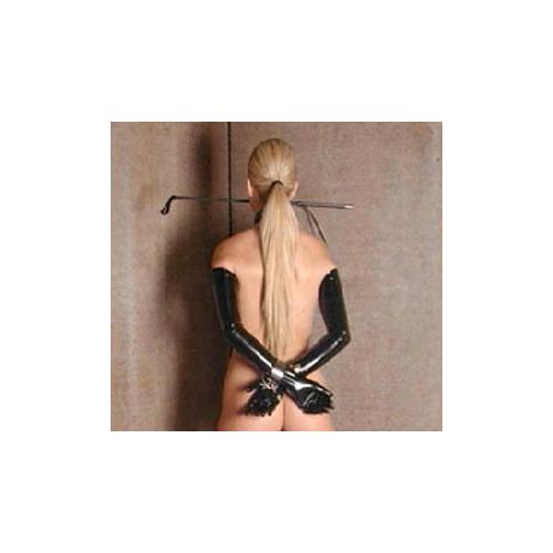 Shoulder Length Latex Gloves- Medium