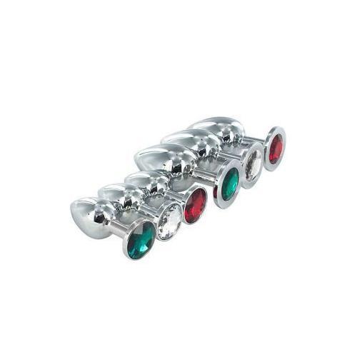 Jewel Butt Plug Emerald