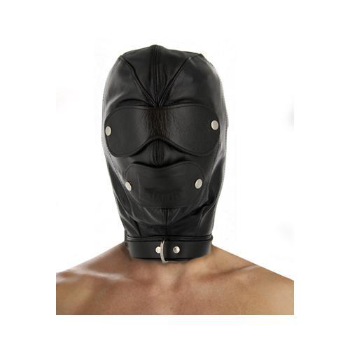 Strict Leather Premium Locking Slave Hood- Large