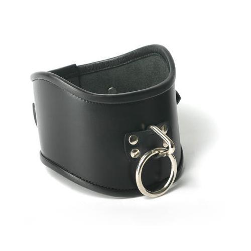 Strict Leather Locking Posture Collar- Large