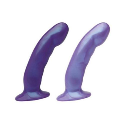 Acute Dildo - Dark Purple