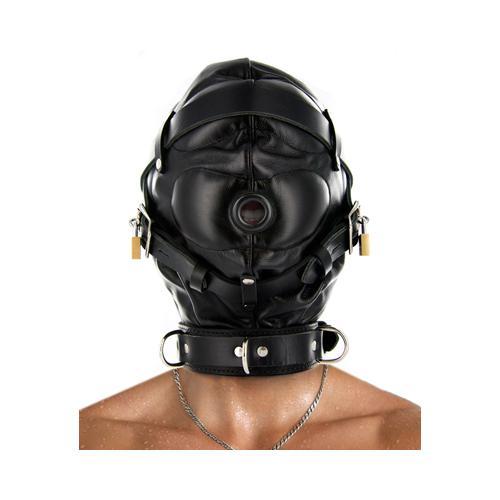 Strict Leather Sensory Deprivation Hood- ML