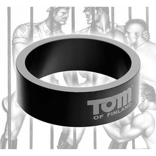 Tom of Finland 50mm Aluminum Cock Ring