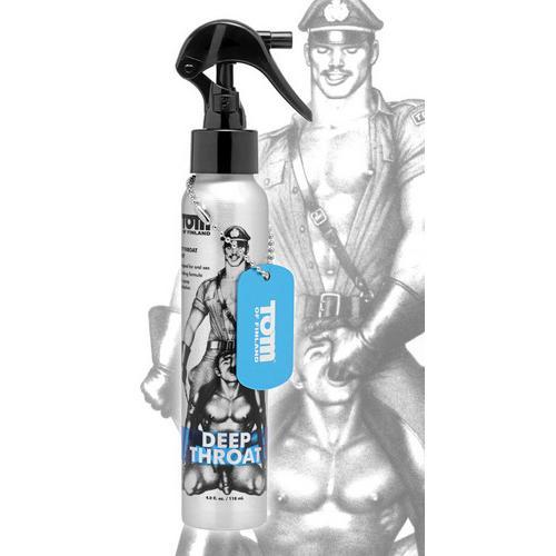 Tom of Finland Deep Throat Spray- 4 oz