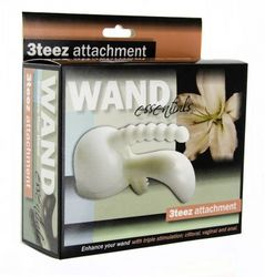 Wand Essentials 3Teez Attachment Boxed- Black