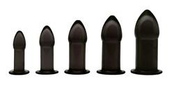 5 Piece Anal Trainer Set - Black