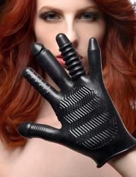 Pleasure Poker Textured Glove