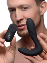 Textured Silicone Prostate Vibrator with Remote Control