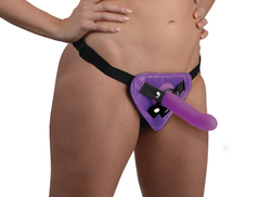 Burlesque Universal Corset Harness - Purple