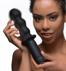 The Groove 10X Silicone Vibrator with Handle