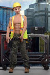 Builder Brett Adult Doll