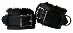 Strict Leather Premium Fur Lined Wrist Cuffs