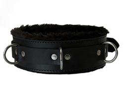 Strict Leather Premium Fur Lined Locking Collar- XL