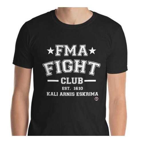 AT0800A  Filipino Martial Arts FMA Fight Club T- Shirt