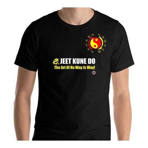 AT1000A  Jeet Kune Do 'Art of No Way Is Way' T-Shirt Black