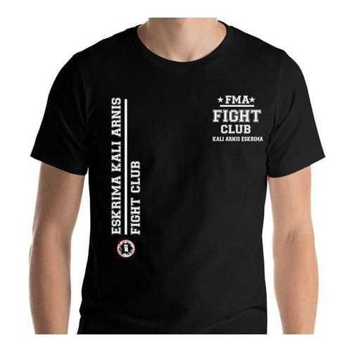 AT1200A  Filipino Martial Arts FMA Fight Club pocket print T- Shirt