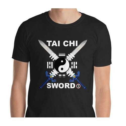 AT1600A Chinese Tai Chi Swords T-Shirt