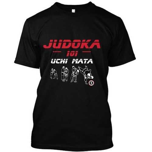AT2200A Judoka 101 Uchi Mata T-Shirt