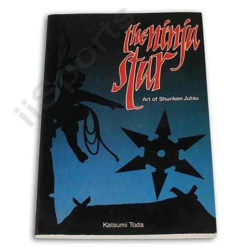 NINJA STAR Art of Shuriken Jutsu Book Katsumi Toda throwing karate OOP paperback