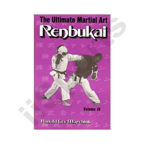 Ultimate Martial Art Renbukai 4 book Ron Marchini Korean Karate taekwondo romarc