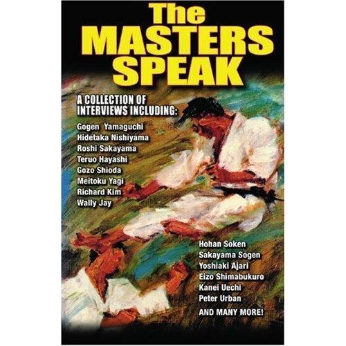 The Masters Speak Karate Legends Book By Don Warrener