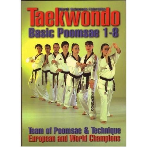 Tae Kwon Do Basic Poomsae 1-8 Book By Castellanos & Tucci