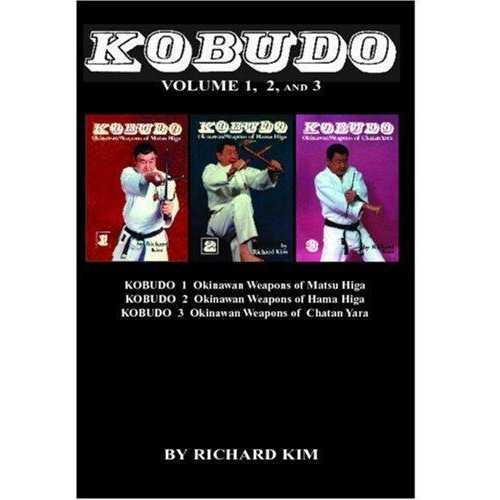 Kobudo 3 Volume Book Kim
