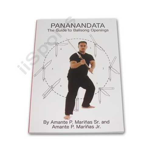 Pananandata Guide Balisong Butterfly Knife Openings Book Amante Marianas blade