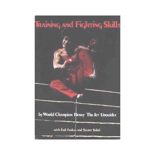 Training & Fighting Skills book Benny the Jet Urquidez kickboxing karate New! FS