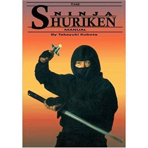 The Ninja Shuriken Manual throwing star instructional Book Takayuki Kubota