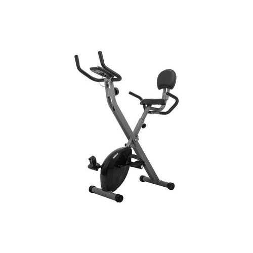 AUWIT Compact Women's Magnetic Recumbent Exercise Bike - Adjustable Resistance