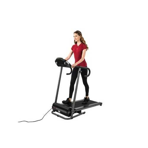 AUWIT Compact Women's Folding Exercise Treadmill 600W - Multi-Mode LCD Controls