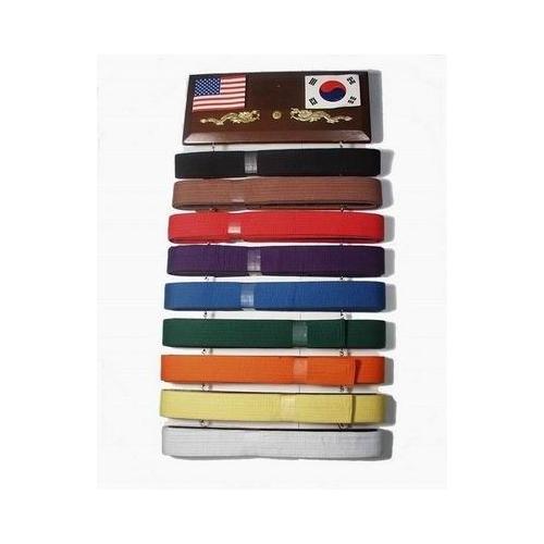10 Rank Belt Display Rack
