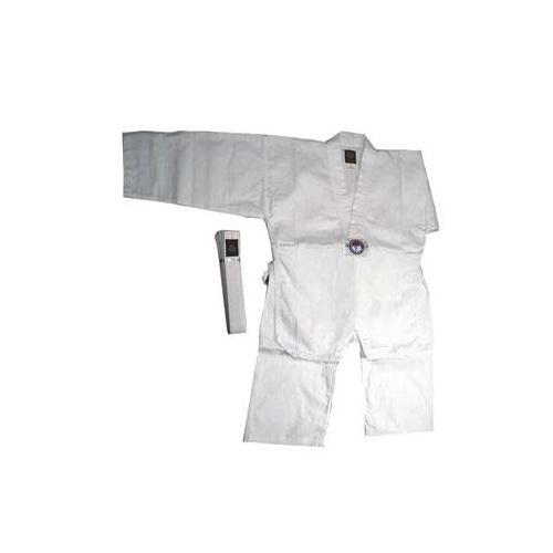 White Taekwondo V-Neck Uniform