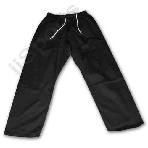 Black Karate Pants #5 LARGE